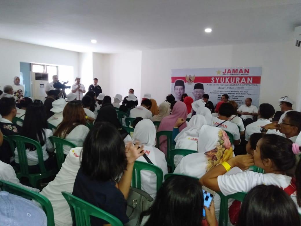 Jaman Perempuan Kawal Pelantikan Jokowi