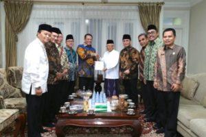 Ma'ruf Amin Apresiasi Pimpinan MPR