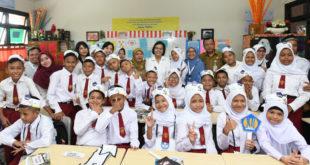 Sri Mulyani Terjun Langsung Sosialisasi Pajak ke Anak SD